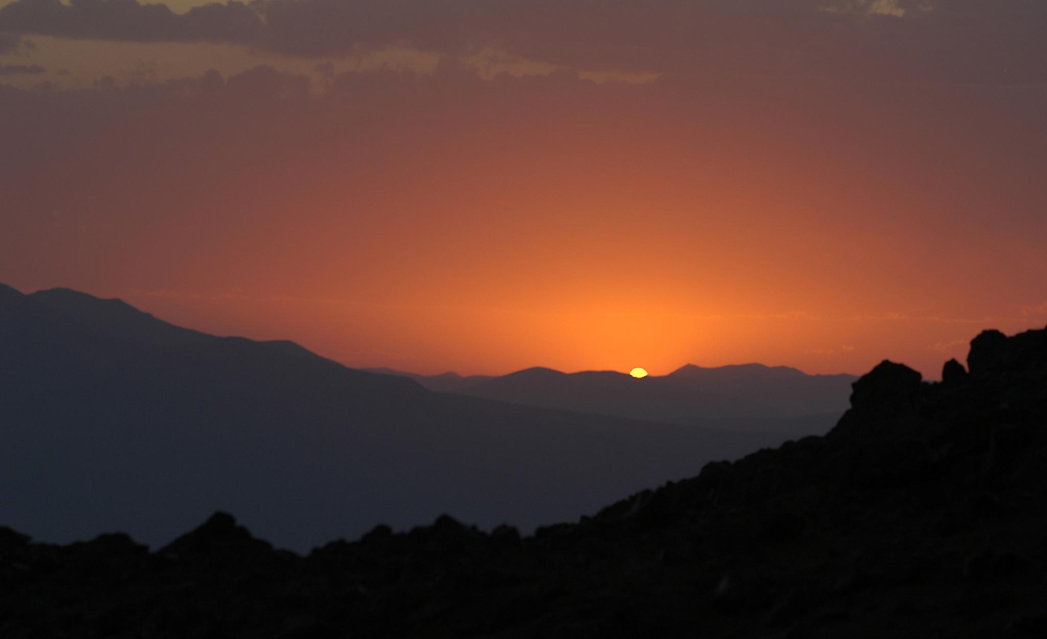 2005 / Ararat, Green Camp sunset