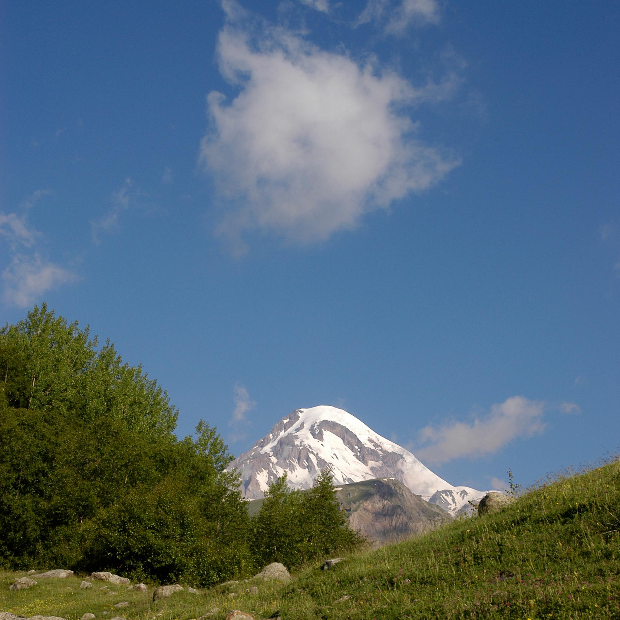 2006 / Mt. Kazbeg, 5033m
