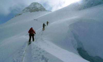 2010 / Windy ascent to Vorder Galmihorn