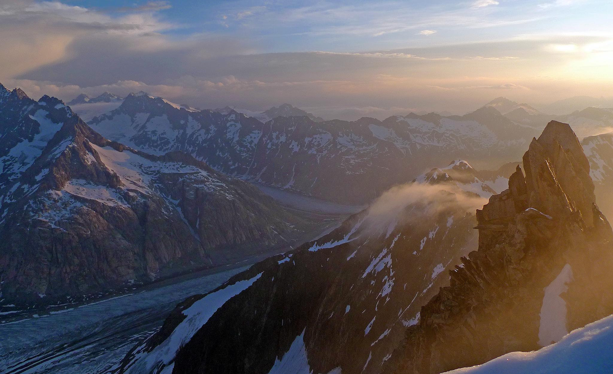 Oberaarhorn, 3630m